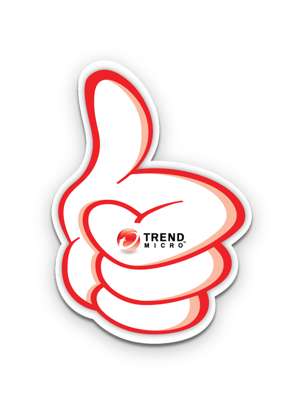 TrendMicro ThumbUp Signage